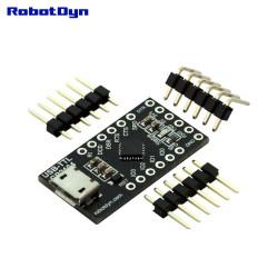 CP2104, adattatore seriale USB / microcontrollore 5 V / 3,3 V, I / O digitale, Micro-USB