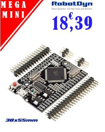 Mega2560 Mini Format